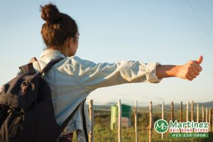 Hitchhiking In California